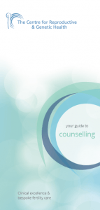 CRGH Counselling leaflet front cover