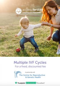 Access Fertility IVF packages leaflet for CRGH