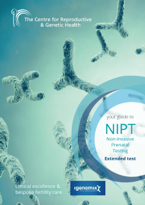 CRGH NIPT Extended Test guide